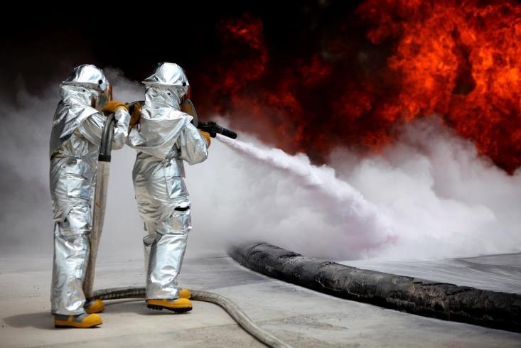 Gambar Pelatihan Kebakaran